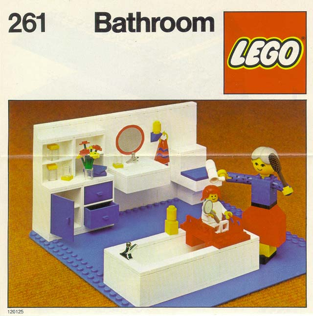 I built a bathroom because not enough lego buildings have for Bathroom decor reddit