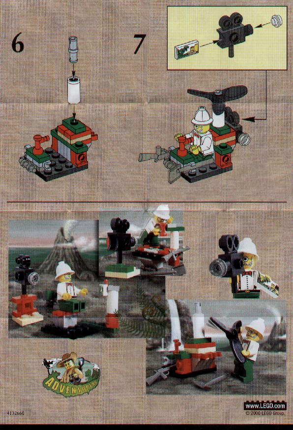 Lego Instructions For Microcopter 1280 1 Swooshable