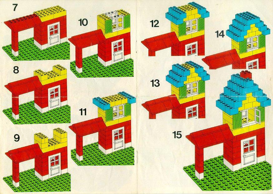 Как сделать из конструктора домик картинки