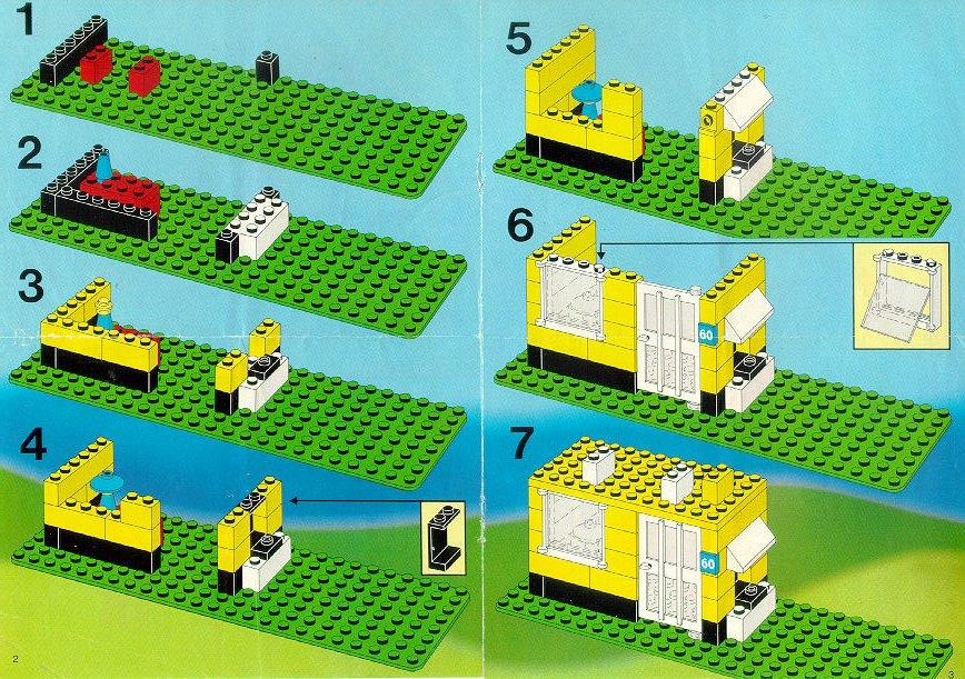 Инструкция постройки из лего