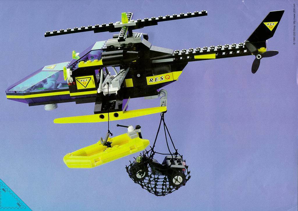 Инструкция как сделать вертолет из лего