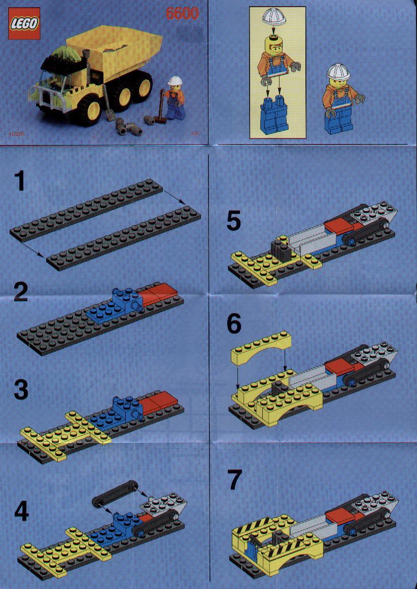 лего полиция патруль инструкция