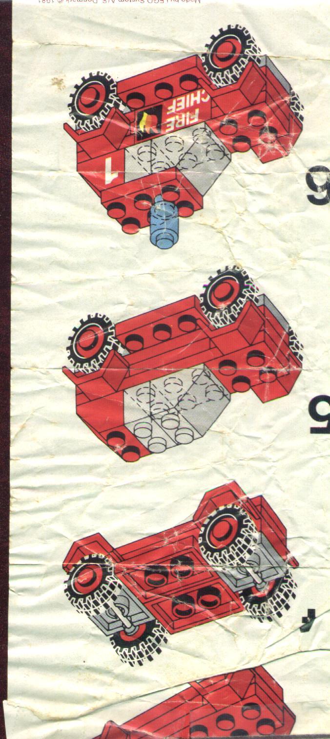 инструкция по сбору пожарной машины