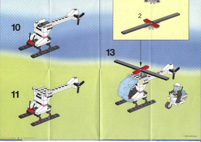 Как сделать из лего вертолет маленький