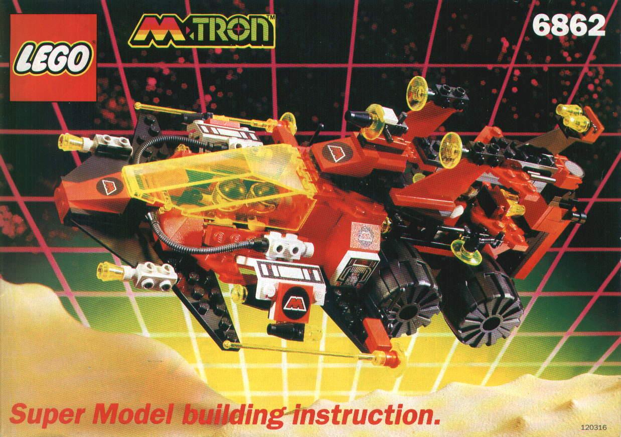 Lego M: Tron (1990-1991) 001