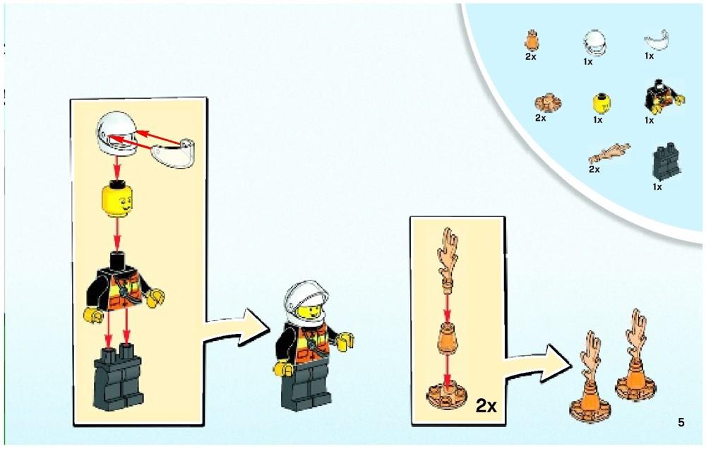 spiderman lego instructions 10687