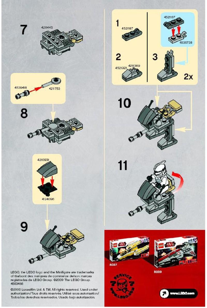 лего звездные войны инструкция республиканского фрегата