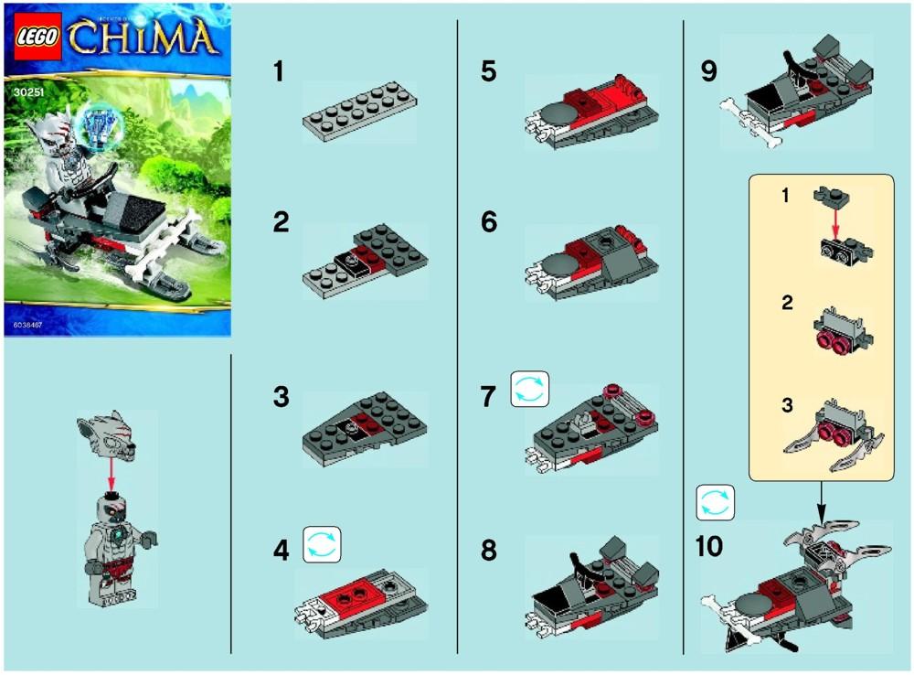 lego movie sets instructions