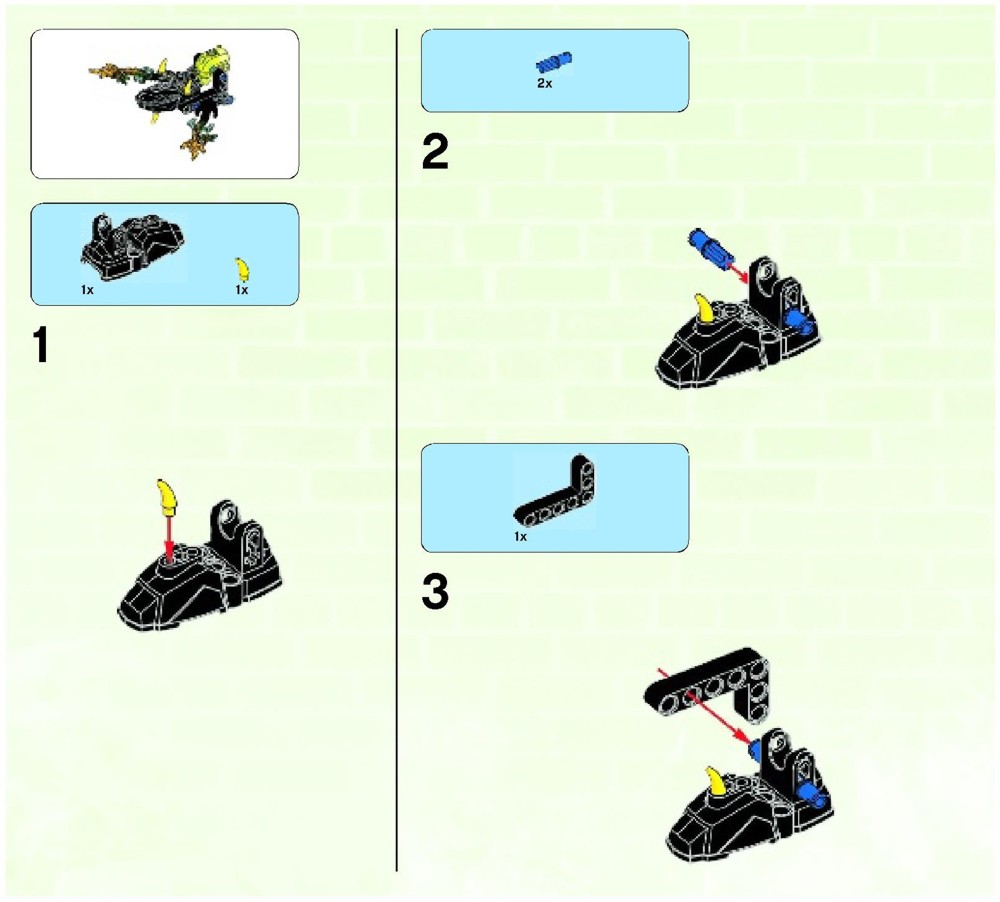 hero factory dragon bolt instructions