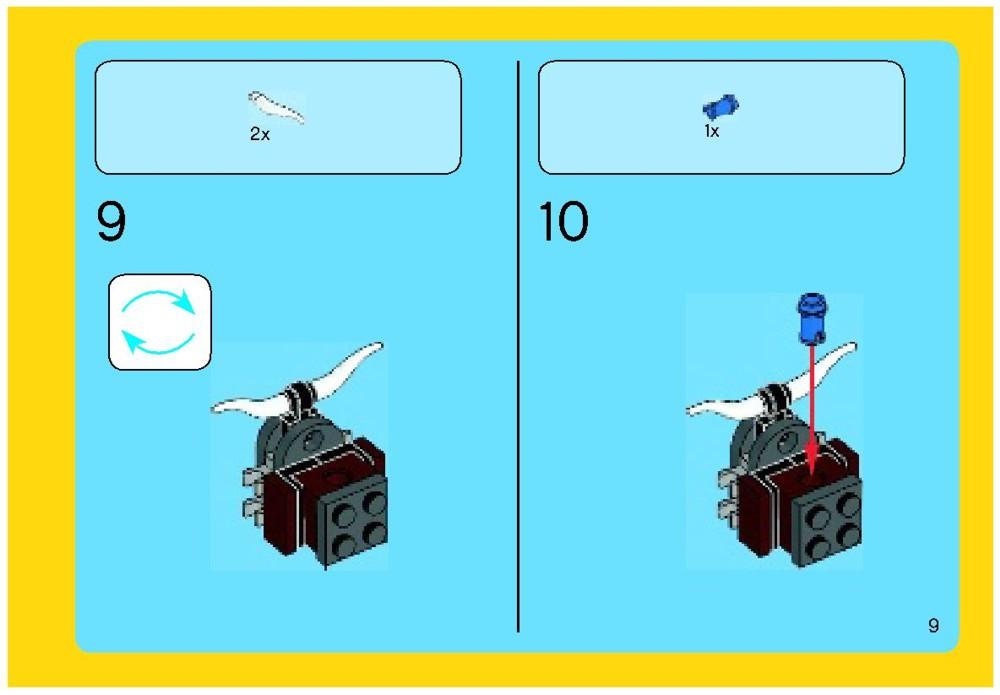 cloud cuckoo palace instructions