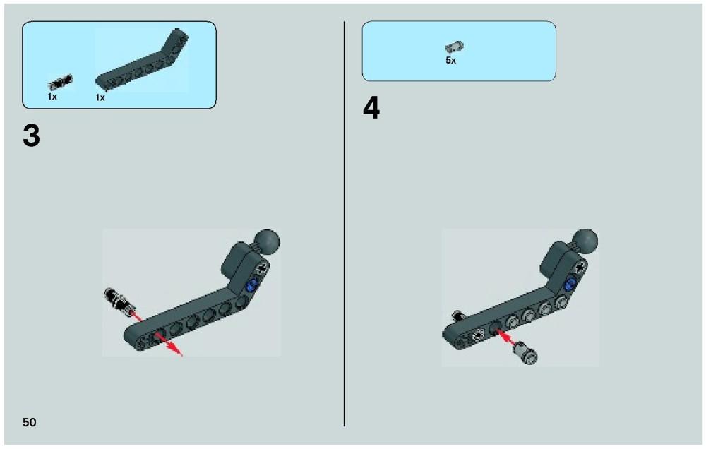 general grievous wheel bike lego instructions