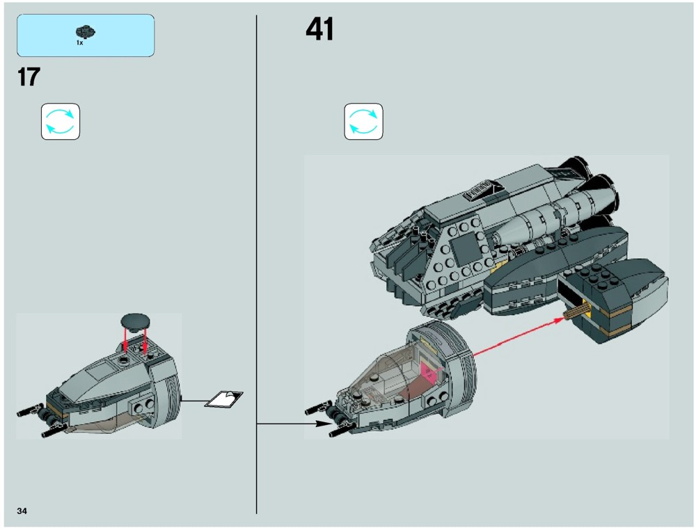 lego b wing 6208 instructions