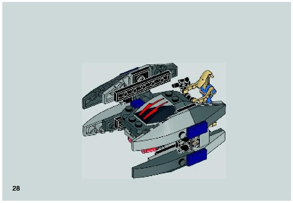 lego vulture droid instructions