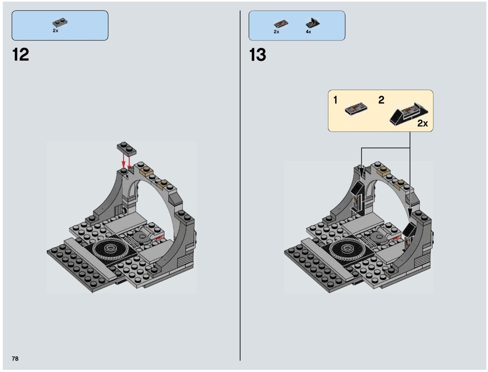 mini death star lego instructions