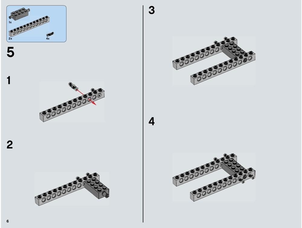millennium falcon lego instructions 75105