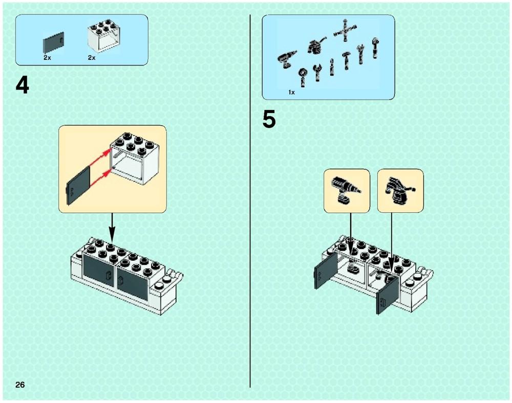 lego mclaren mercedes pit stop instructions
