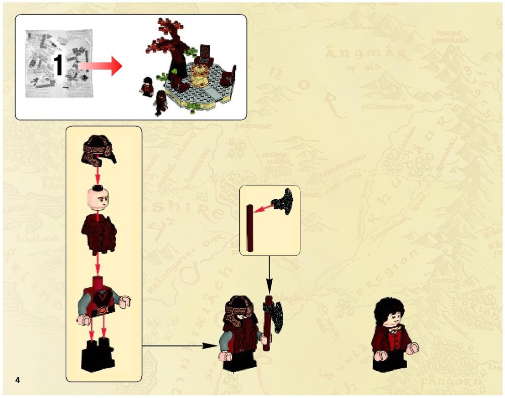 lego instructions lord of the rings